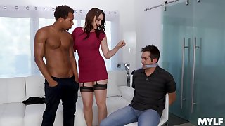 Video of interracial fucking at one's disposal home to provocative Chanel Preston