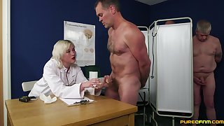 Sexual rebuke for cock leads blonde doctor less insane orgy